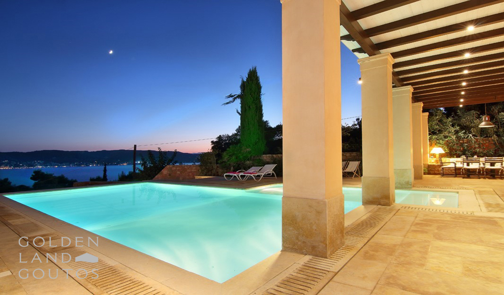 Villa Marseille in the area of Porto Heli