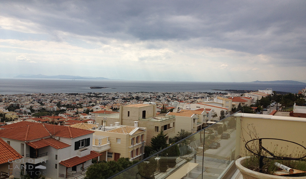 Μinimal Maisonette with a stunning panoramic view in Voula
