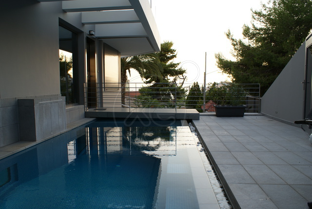 Newly built, minimal maisonettes, sea view, in Voula- Panorama area