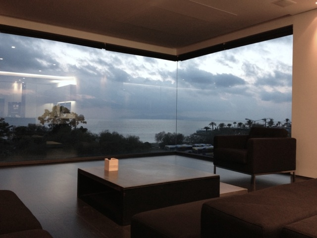 Unique furnished minimal pent-house, sea view, pool, in Voula