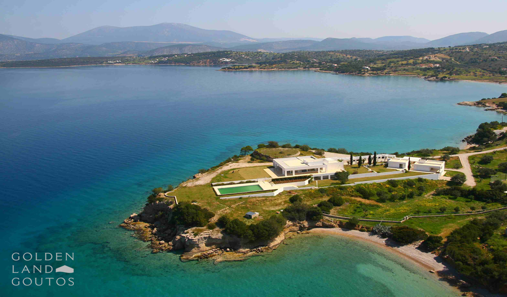 White House a luxury seafront property in Porto Heli - Greece