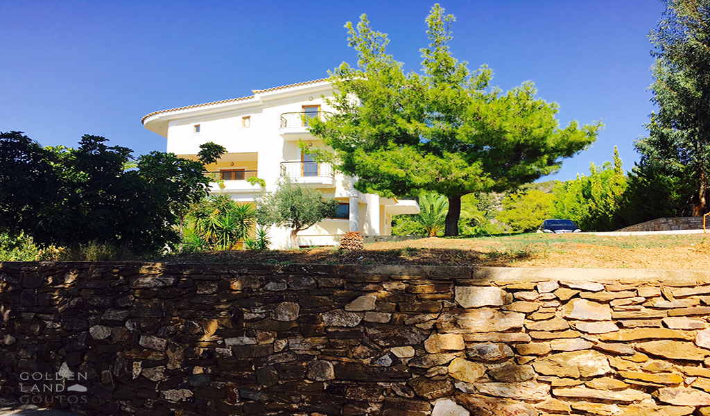 Villa with stunning sea view in Voula