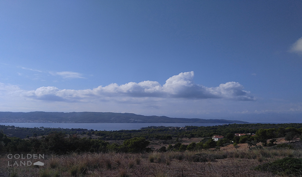 Hilltop plot of land 4000 sqm with Exceptional view of Spetses