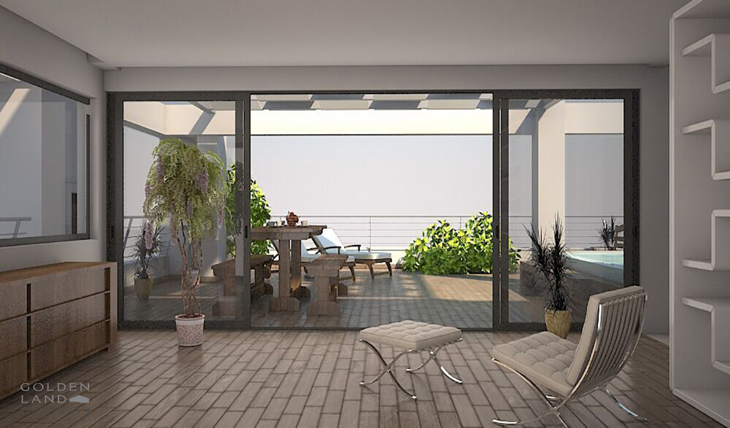 Newly built luxurious Maisonettes in Voula close to the beach