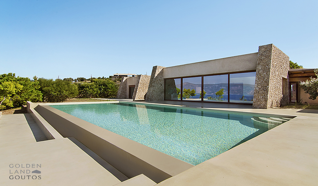 Villa Barba luxury seafront property located in Porto Heli