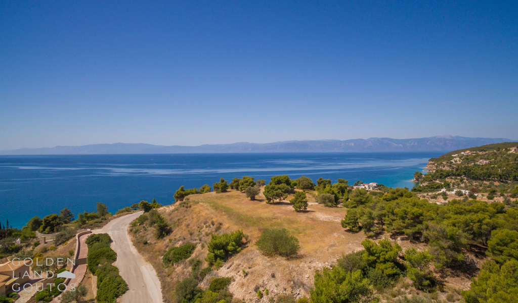 Unique Hilltop Plot for sale in Porto Heli
