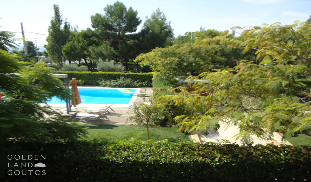 Ground floor furnished Maisonette in Voula
