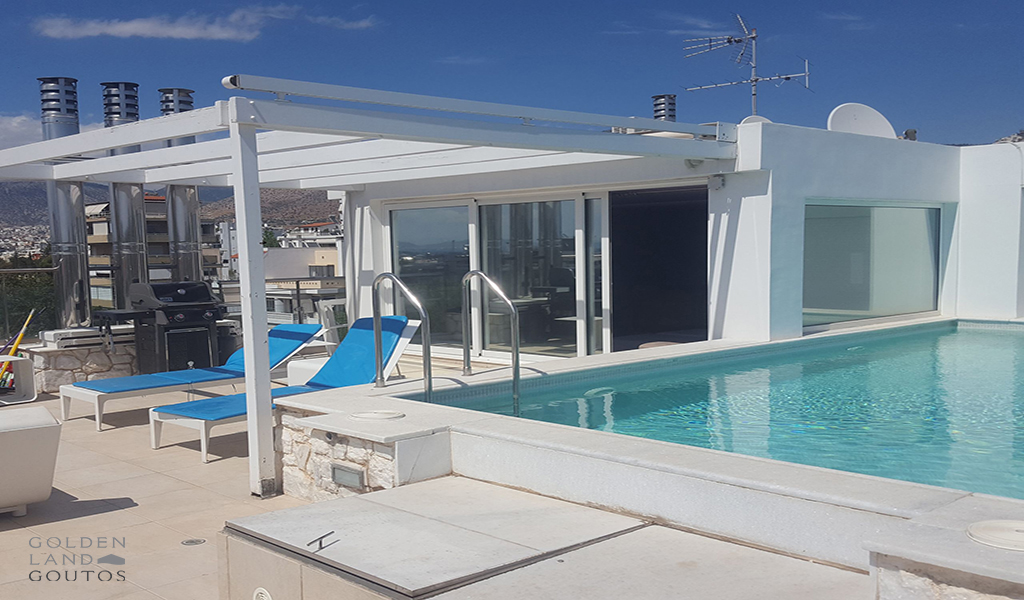 Μinimal Pent house in Voula