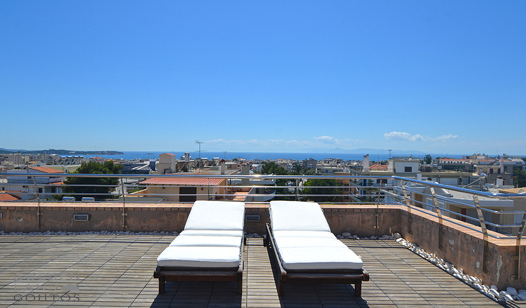 Exclusive Sea View Maisonette in Voula