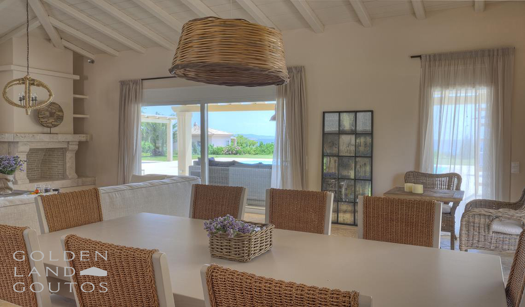 Villa Tramonto seafront property for sale in Porto Heli