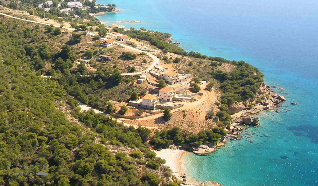 Villa Korakia with astonishing views