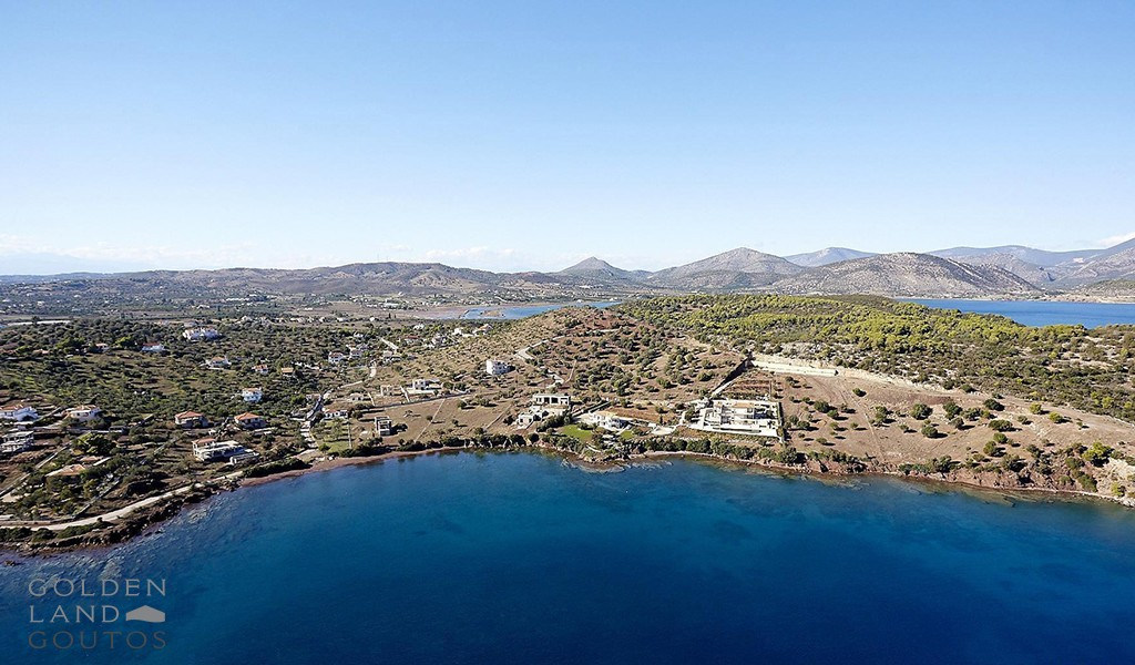 Plot of land of 5,000 sqm on the sea