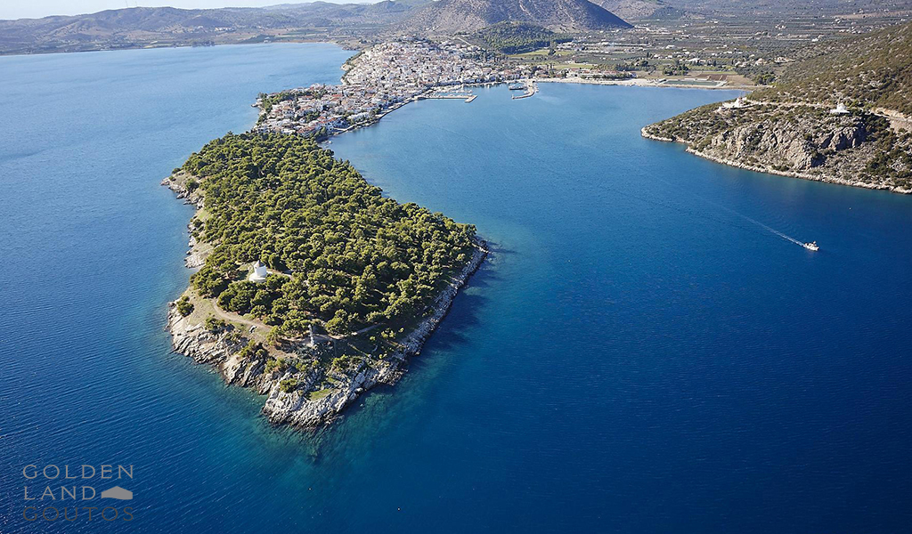 Seafront plot of land of 4000 sqm near Ermioni