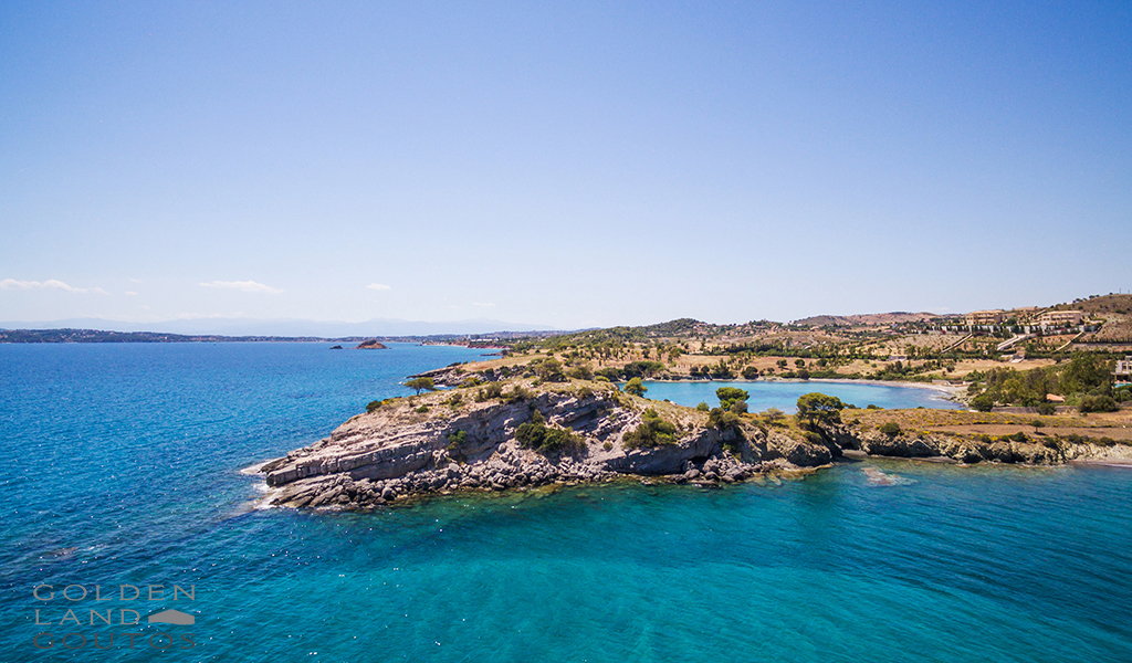 Seafront plot of land for sale 13000 sqm