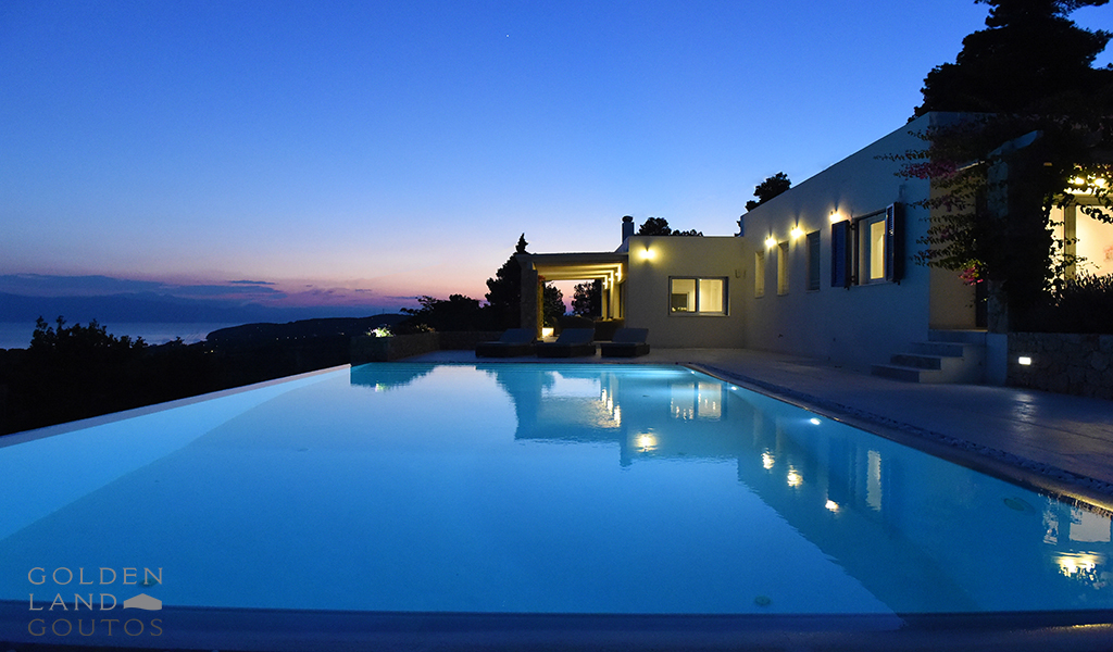 Villa Gournes, Luxury property for rent in Porto Heli, Greece