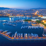 Luxury lifestyle and activities in the upper class sea side district of Athens