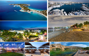 Luxury lifestyle and activities in the upper class sea side district of Athens.