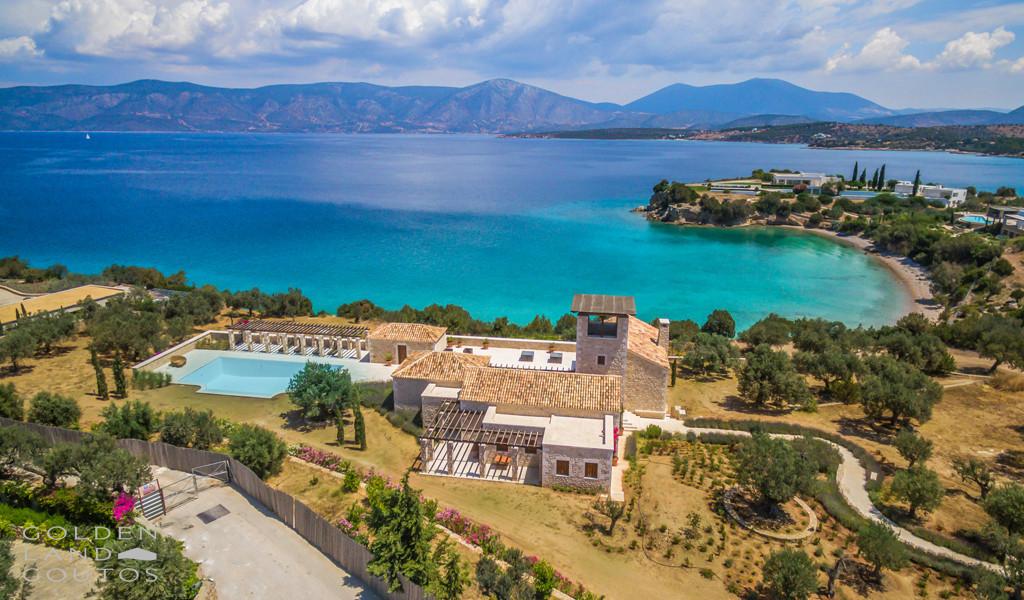 Villa Ion External Drone view