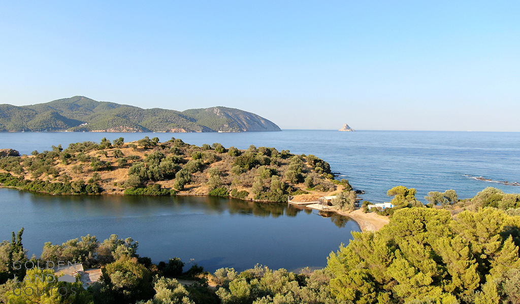Island For Sale Located Opposite of Poros