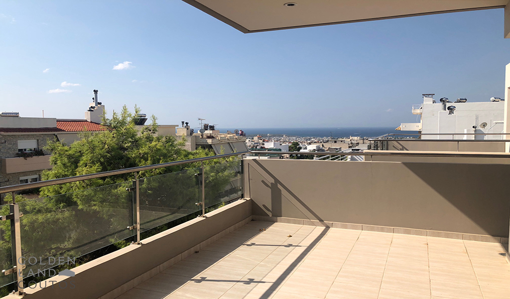 Modern Apartment with sea view in Glyfada