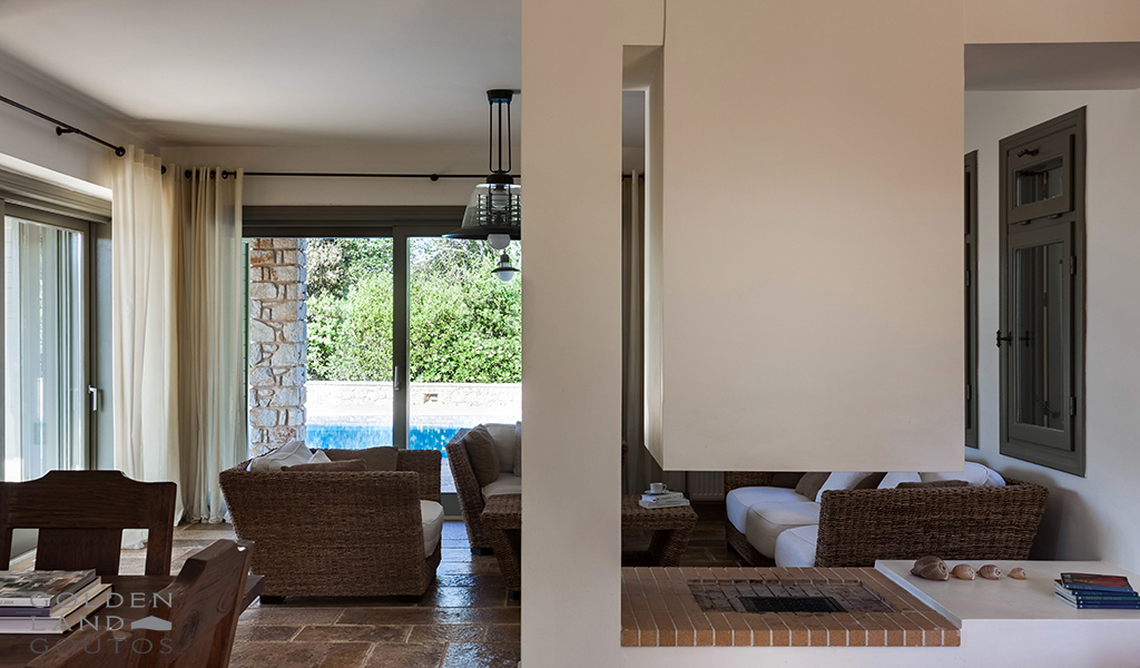 Newly built villa Elia is located in the heart of Costa