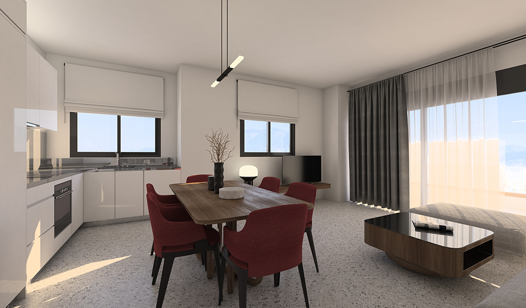 Newly Bulit Apartments in Glyfada