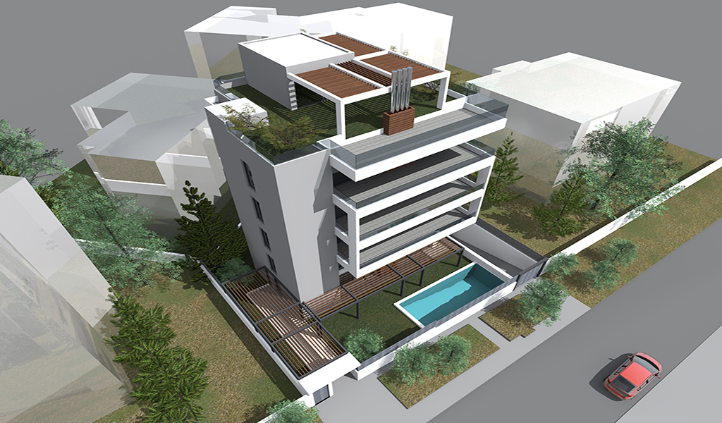 New construction in Voula