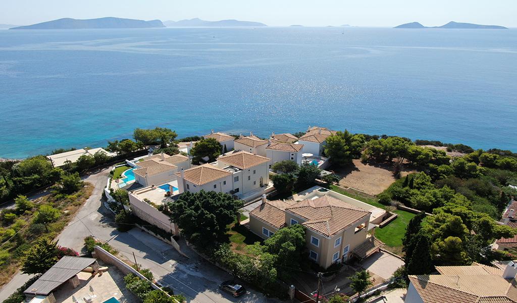 Villa at the Edge of the Sea