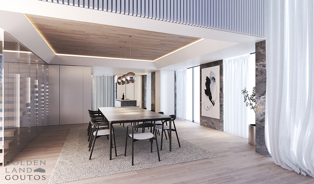 Exceptional Minimal Apartment Complex in Voula