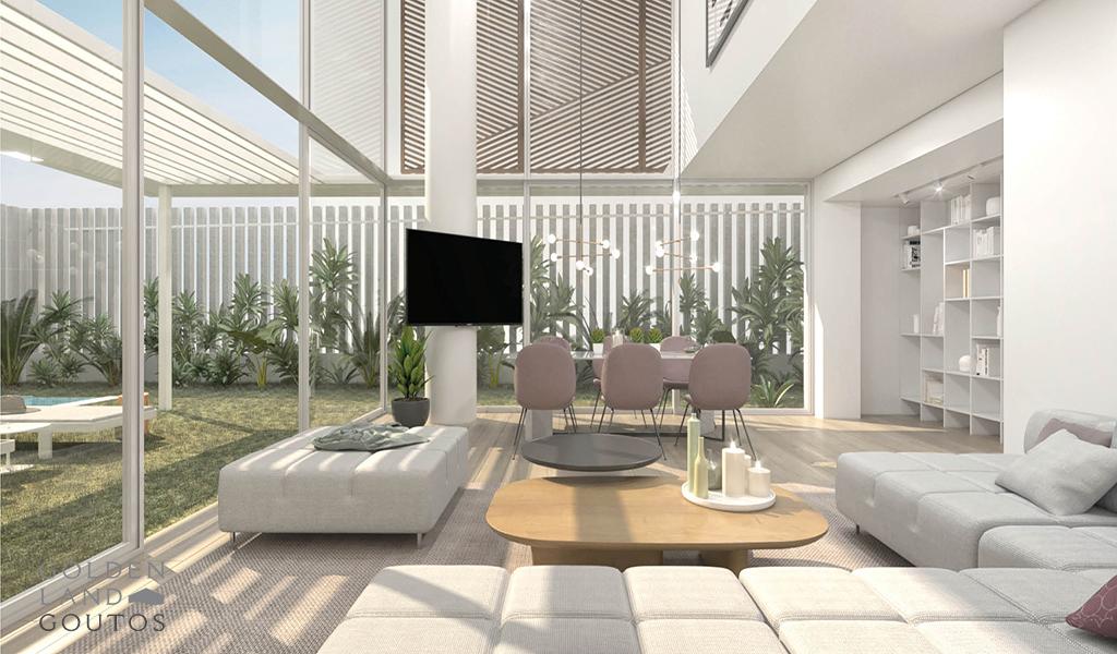 Minimalistic Modern Houses In Glyfada