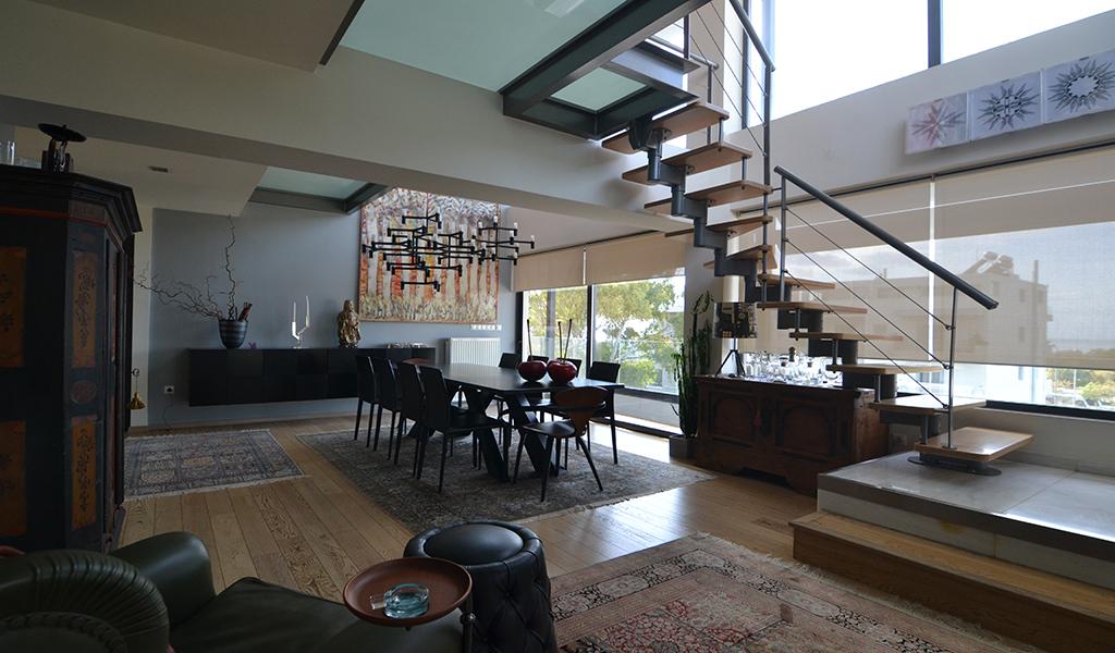 Unique Design Penthouse in Voula