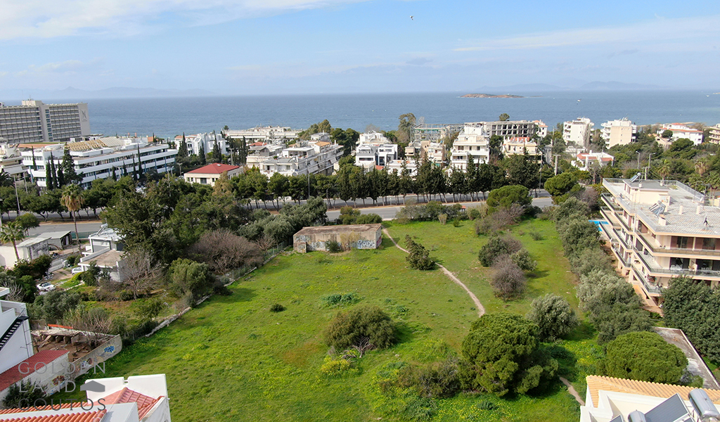 Large Plot in a prime location in Voula