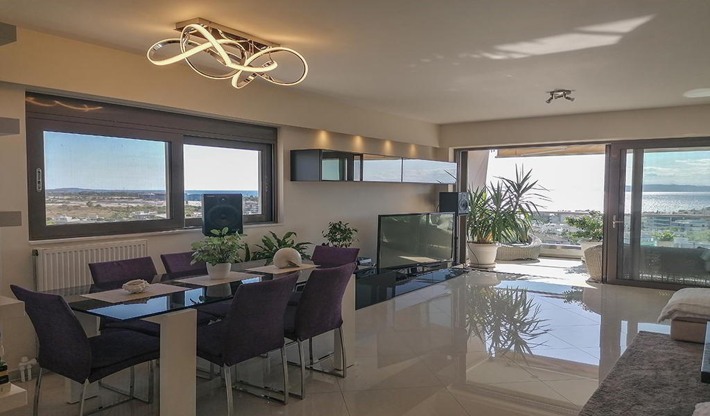 Modern Penthouse with sea view in Alimos