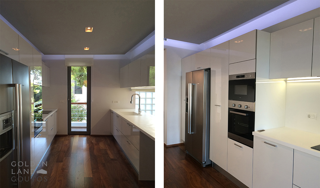 Minimalistic First Floor Apartment in Glyfada