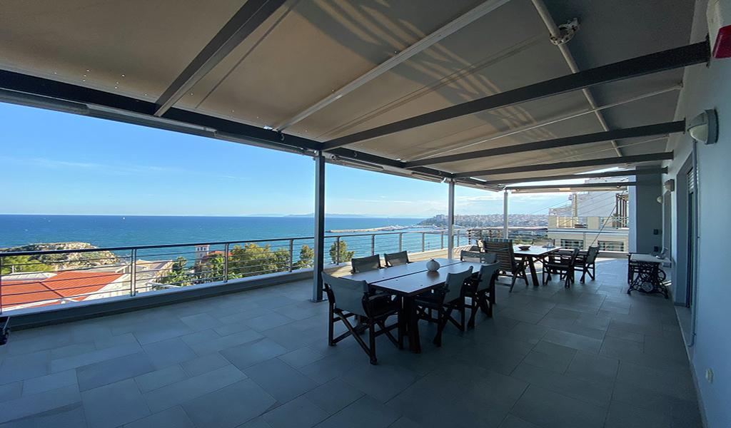 Penthouse Maisonette with Unique Sea View in Kastella