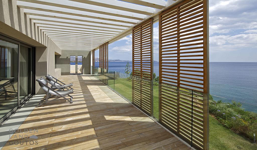 Minimal Villa with Private Beach in Agia Marina