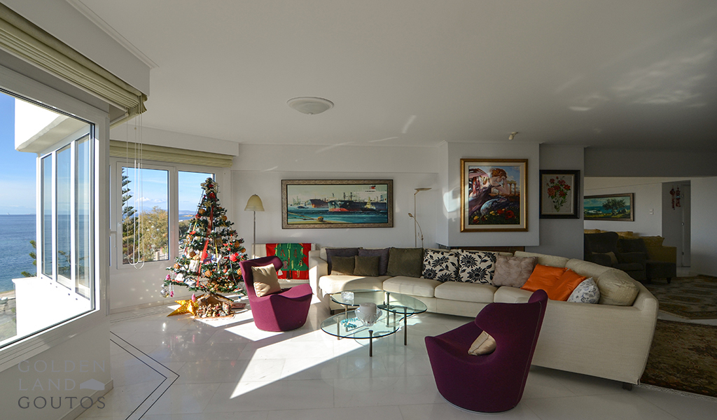 One of a Kind Sea View Apartment in Voula