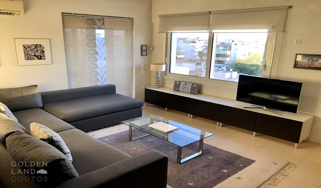 Modern Apartment with Stunning Sea in Glyfada