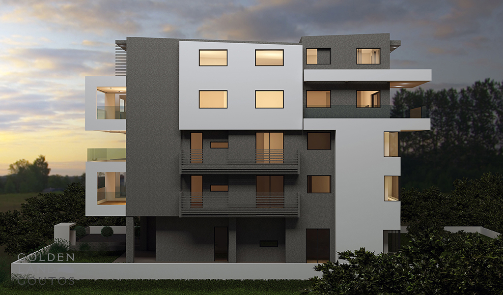 Newly Built Penthouse Maisonettes in Voula