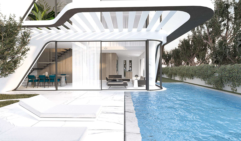 Stunning Ground Floor Maisonette with Pool in Voula