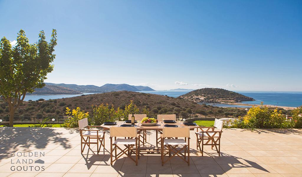 Exquisite Seaview Villa in Anavisso