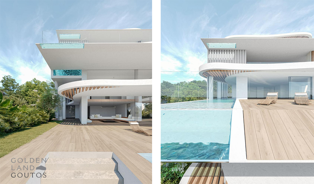 Stunning Maisonette with Private Pool in Vouliagmeni