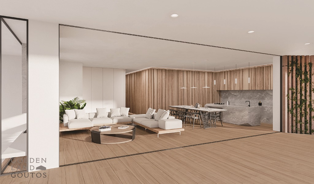 Newly Built & Minimal floor Apartment in Glyfada