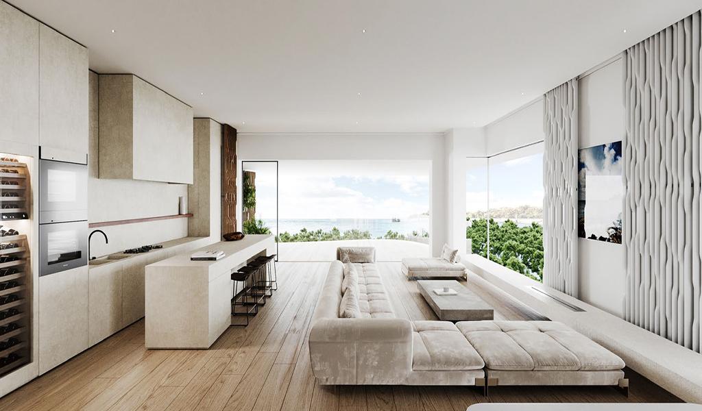 Luxurious Floor Apartment in Voula