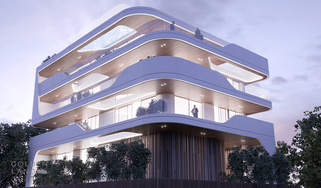 Deluxe Apartments in the Center of Voula