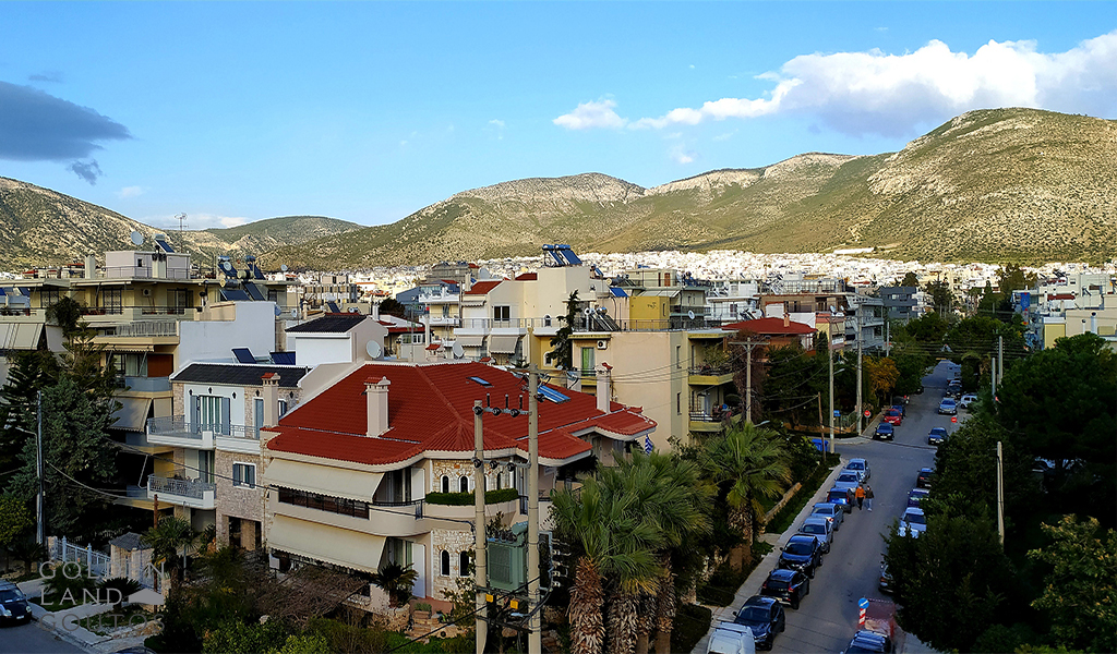 Modern Apartment with Mountain View in Glyfada