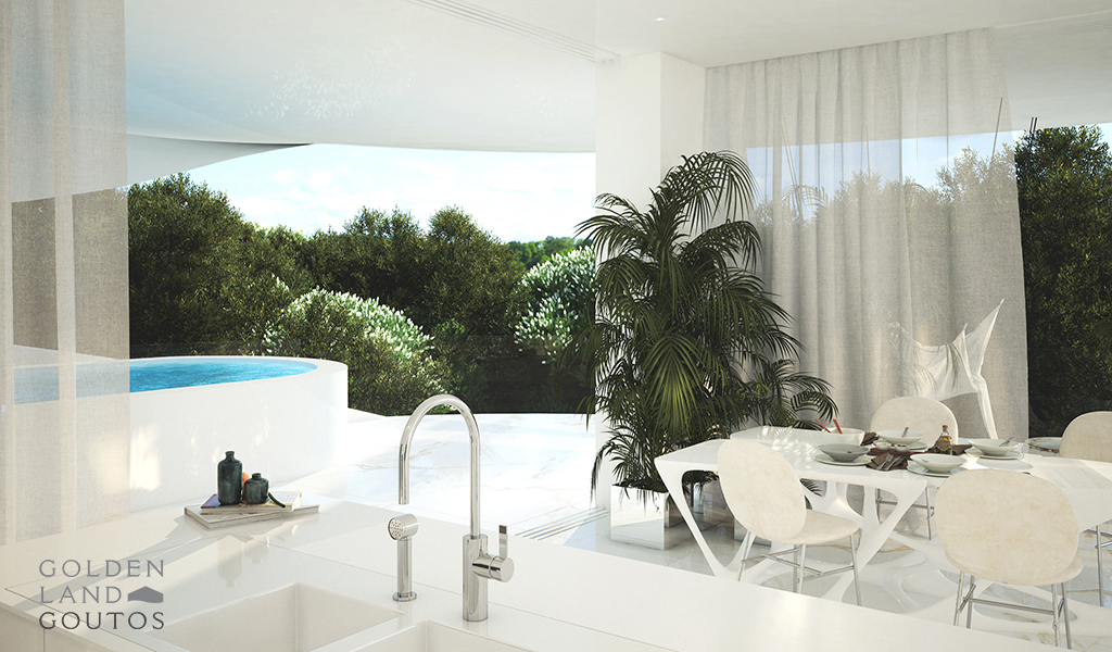 Imposing Ground Floor Maisonette with Pool in Glyfada