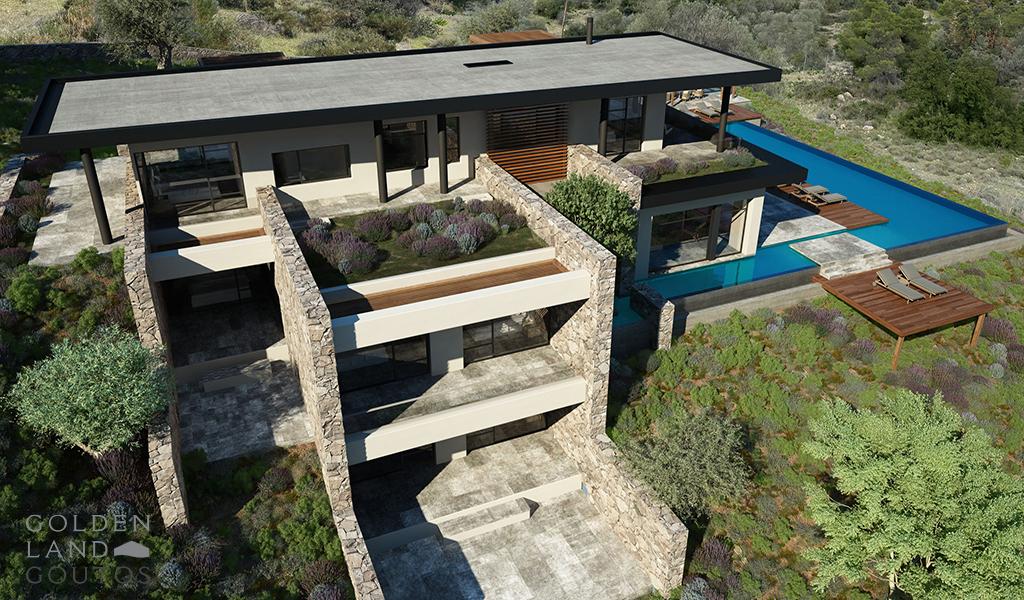Villa In Porto Heli Hills