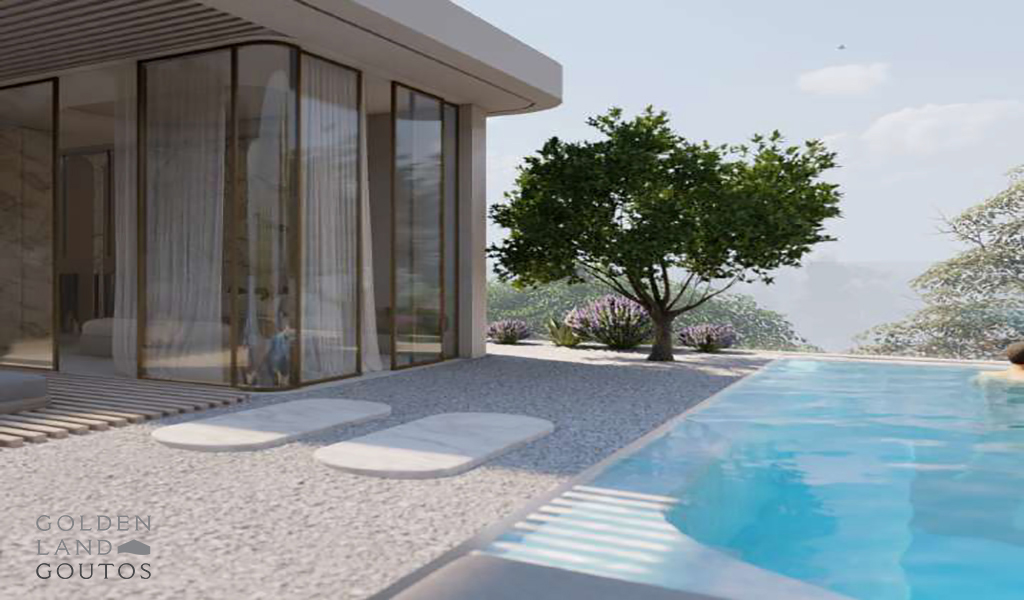 Deluxe Penthouse Maisonette with Pool in Voula