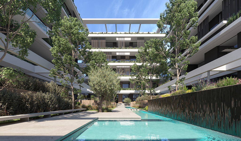 Magnificent Residential Complex in Voula